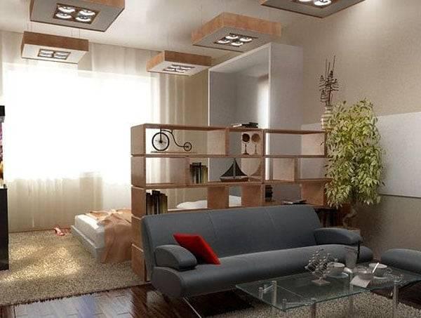 дизайн комнаты 18 кв м спальни гостиной с примерами в нашей статье